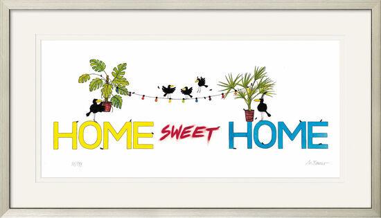 "Michael Ferner: ""Home Sweet Home Office"", gerahmt"