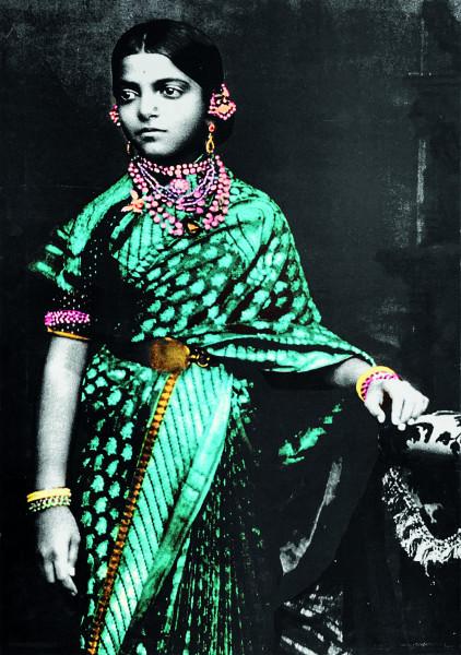 Indien - Princess Cheluvajammanniavaru of Mysore c. 1900