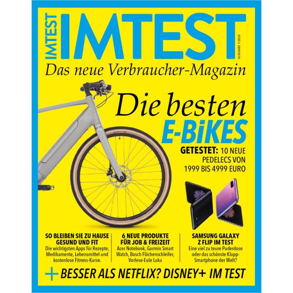 IMTEST E-Paper - Die besten E-Bikes 2020