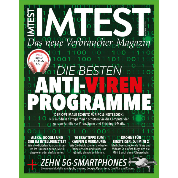 IMTEST E-Paper - Die besten Anti-Virenprogramme 2021