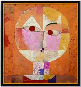 """Paul Klee: Bild """"Senecio (Baldgreis)"""", 1922"""