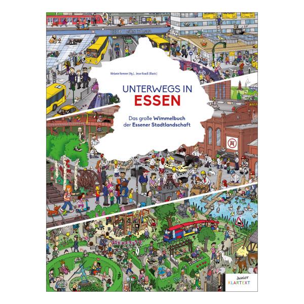 Unterwegs in Essen - Das grosse Wimmelbuch