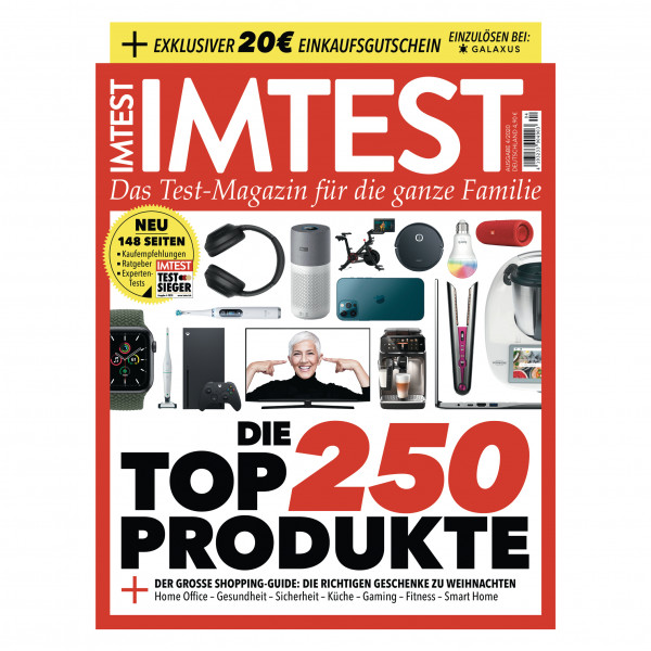 IMTEST - Die 250 Top-Produkte / Das Verbrauchermagazin 04/20