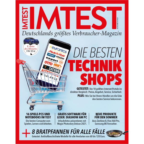 IMTEST E-Paper - Die besten Technikshops 2021