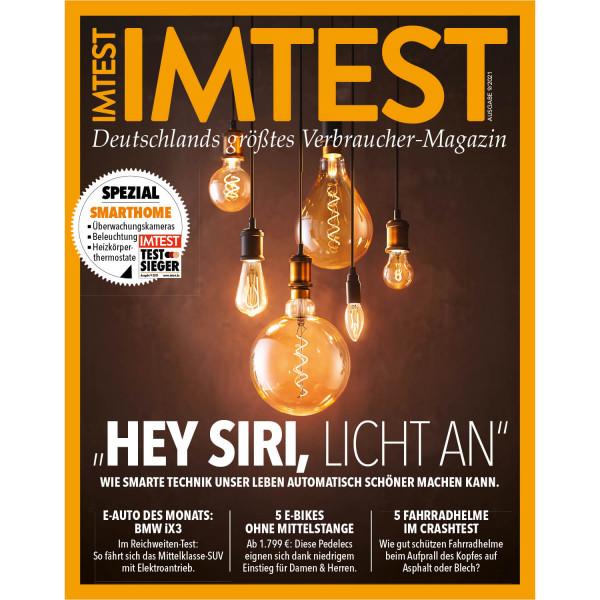 "IMTEST E-Paper - ""Hey Siri, Licht an"" 2021"