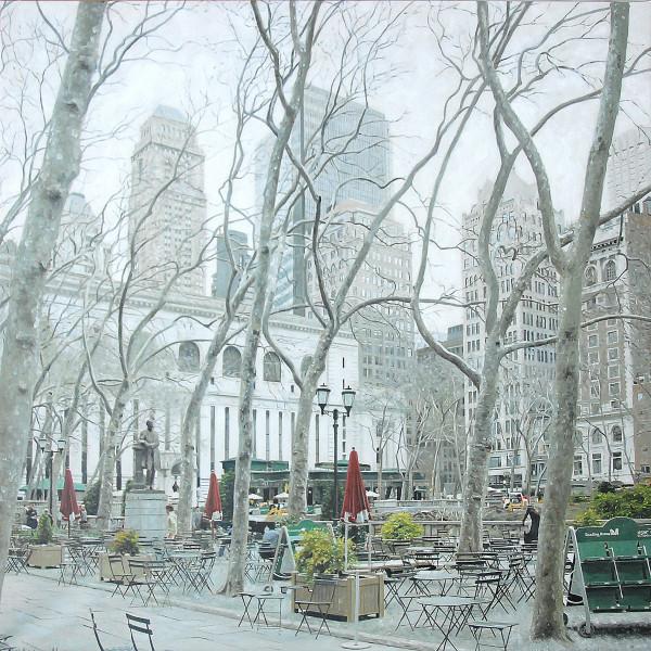 New York - Bryant Park im Winter