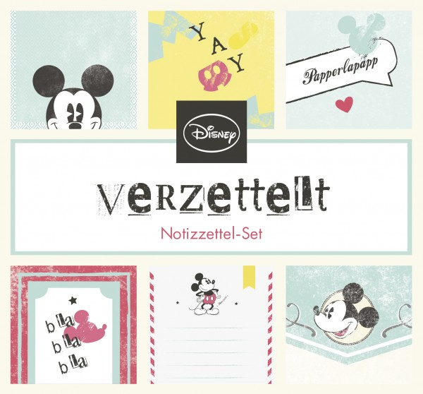 Mickey Mouse - Notizzettel-Set