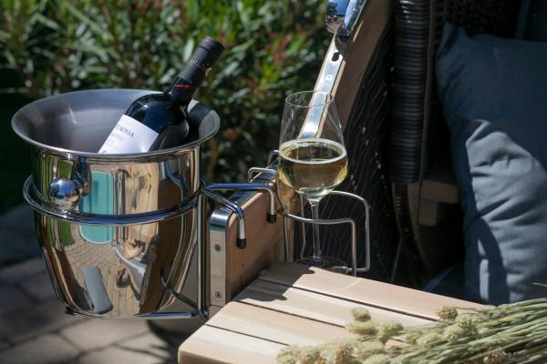 Glas- und Flaschenhalter inkl. Anhängevorrichtung