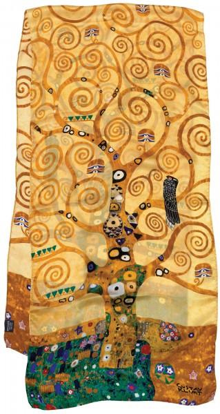 """Gustav Klimt: Seidenschal """"Lebensbaum"""""""