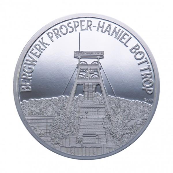 Sonderprägung Prosper Haniel -silber