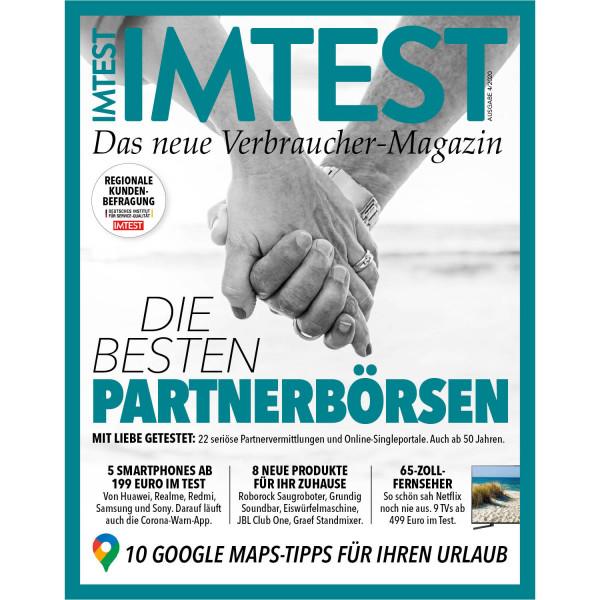 IMTEST E-Paper - Die besten Partnerbörsen 2020