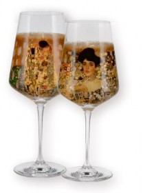 Weingläser-Set Gustav Klimt