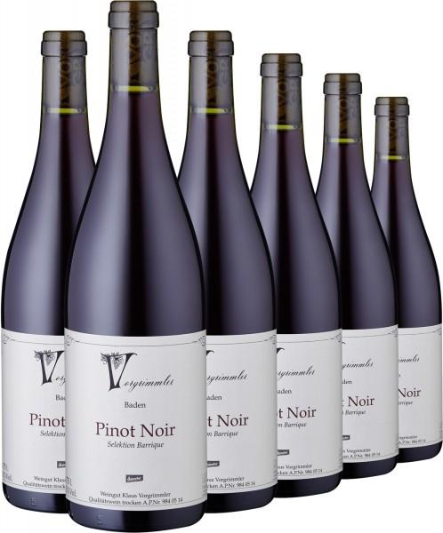"2015 Pinot Noir trocken ""Barrique"", Weingut Vorgrimmler"