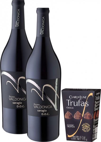 """Weinpaket """"Valdonica und Trüffel"""""""