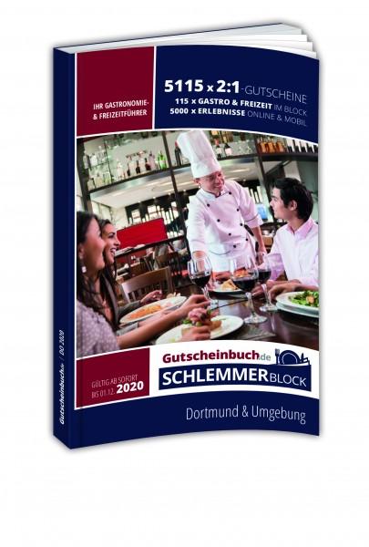 Dortmund 2020 Gutscheinbuch.de Schlemmerblock