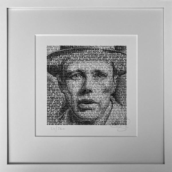Wortmalerei Joseph Beuys