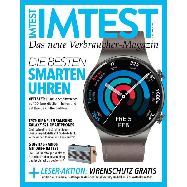IMTEST E-Paper - Die besten Smartuhren 2021