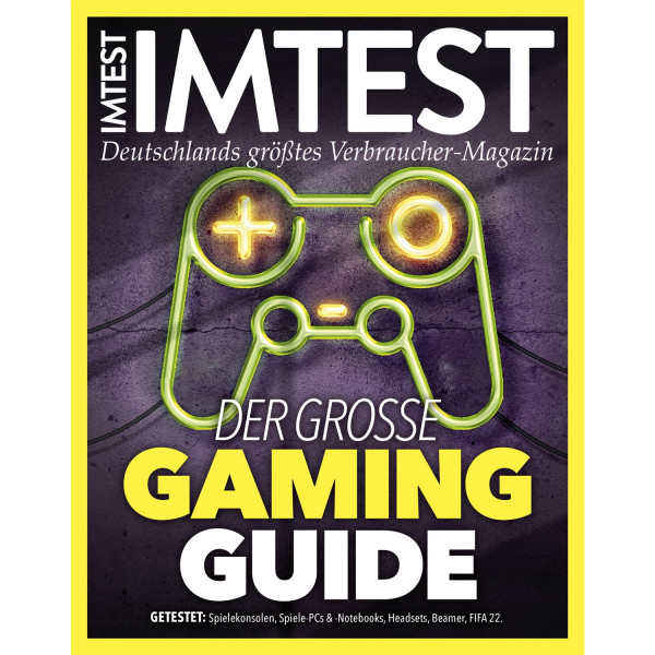IMTEST E-Paper Der grosse Gaming Guide