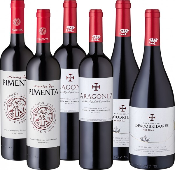 """Weinpaket """"Rebsortenschätze Portugals"""""""