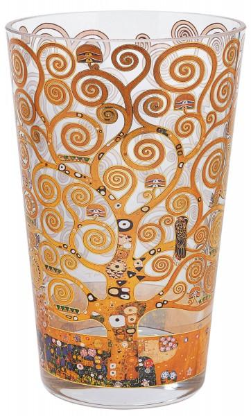 """Gustav Klimt: Glasvase """"Lebensbaum"""""""