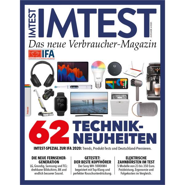 IMTEST E-Paper - 62 Technikneuheiten 2020