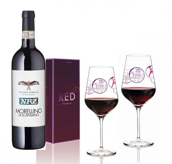 NRZ Rotwein-Set (mit Gläsern)
